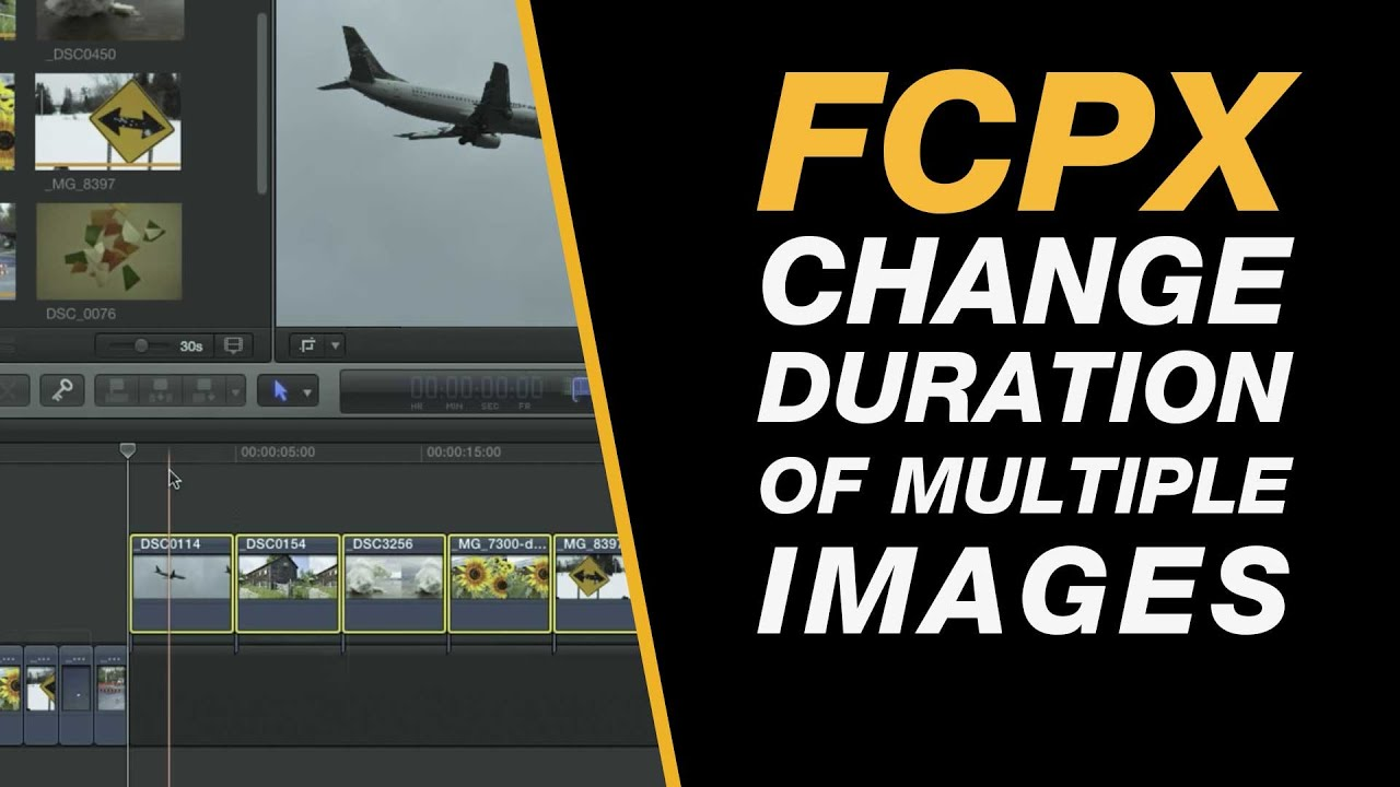 Final Cut Pro X: Change The Duration of Multiple Images in One Go ...