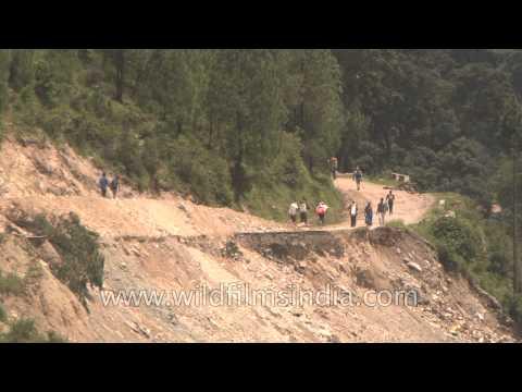 Landslides have widened the valley threefolds: Agastyamuni