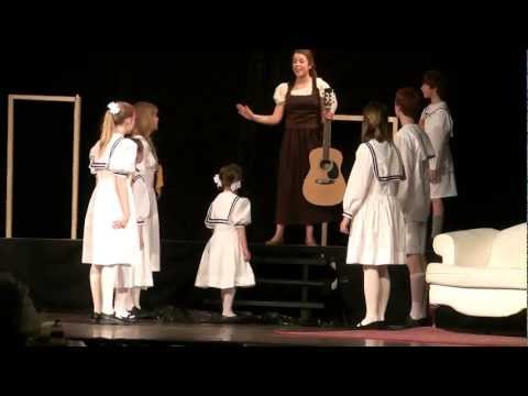 Emma plays Gretl in The Sound of Music