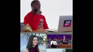 Kevin Hart Reacts To Teens React To Kevin Hart
