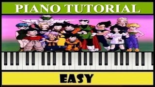 El Poder es Nuestro / Dragon Ball Z / Piano Tutorial / Notas Fáciles / Cover (Synthesia)