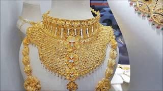 22 Ayar Altın Hint İşi Düğün Takı Setleri & 22 Ayar Altın Gerdanlıklar