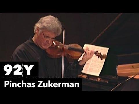 Pinchas Zukerman plays Josef Suk's Piece for Violin and Piano, Op. 17, No. 3