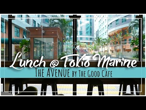 KL Digital Nomad | Lunch at The Avenue by The Good Cafe in Tokio Marine Building
