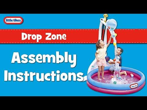 Fun Zone Drop Little Tikes