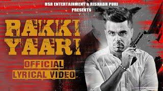 Ninja I Pakki Yaari I  (Official Video)  Mitran Nu Shaunk Hathyaran Da I New Punjabi Song 2020