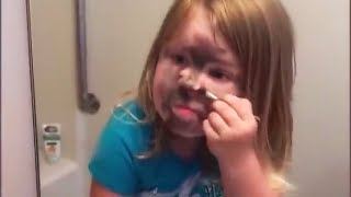 FUNNIEST BABIES REACTIONS AND FAILS TO THE MIRRORS