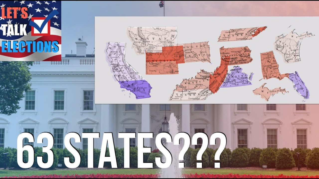 The 13 Imaginary States of the United States