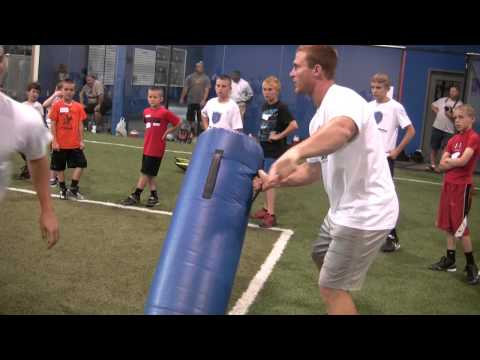 Rocky Boiman Football Camp Footage