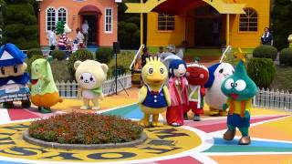 おもちゃ王国 キャラフェス キャラクターさんが転んだ