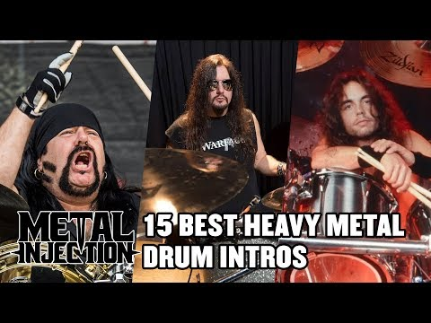 15 Greatest Drum Intros Of Heavy Metal Countdown   Metal Injection