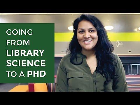 ISchool Ph.D. With Sarika: MLIS To A Ph.D.