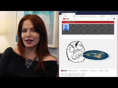 Has Patricia Steere RAGE QUIT the Flat Earth movement? thumbnail