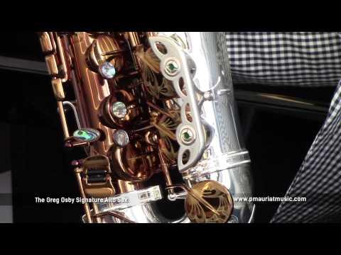 P. Mauriat Greg Osby Signature Saxophone