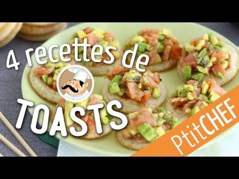 top-4-de-nos-recettes-de-toasts-pour-l'apéritif---ptitchef.com