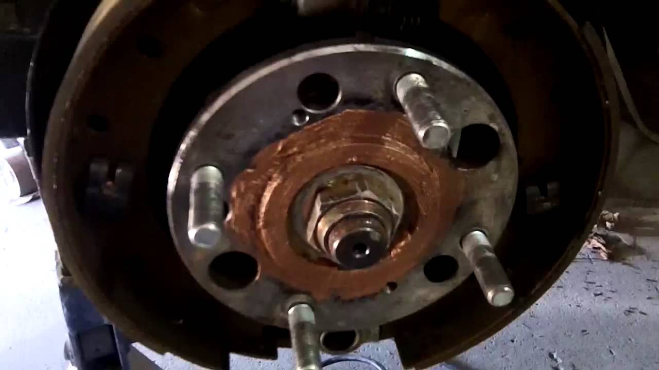 73 Triumph Tr6 Rear Brake Adjustment And Hub Nut Torque Chec Youtube