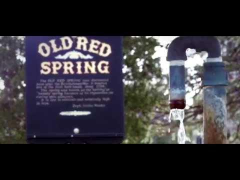 Old Red Spring in Saratoga Springs
