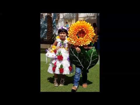 DIY Flower Headpiece/ DIY Flower Costume