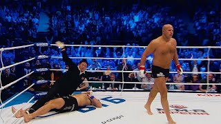 BRUTAL KNOCKOUT! Fedor Emelianenko knocked out the Legend! THE LAST EMPEROR VS ROCK!