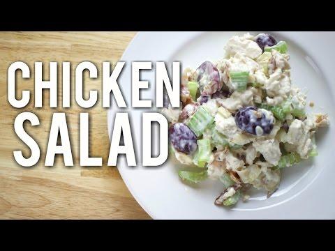 Easy Chicken Salad Recipe | Healthy Homemade Recipe