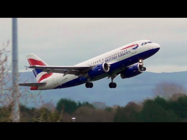 3 ABORTED LANDINGS, REJECTED TAKEOFFS, WINDSHEAR GO AROUND, EMERGENCY at Manchester Airport 13/1/19