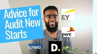 advice for new auditors pwc kpmg ey deloitte