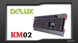 Delux KM02 Game Titan - Rzut oka na ciekawego mechanika