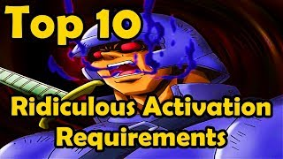 Top 10 Cards With Ridiculous Activation Requirements YuGiOh