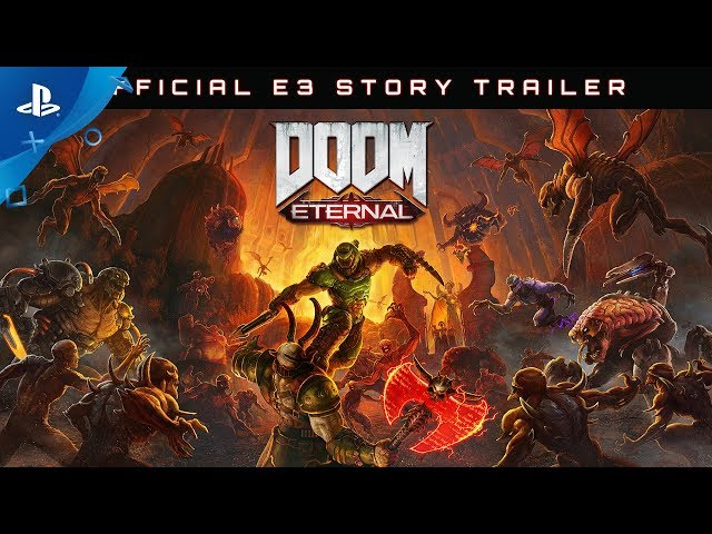 DOOM Eternal - E3 2019 Story Trailer | PS4