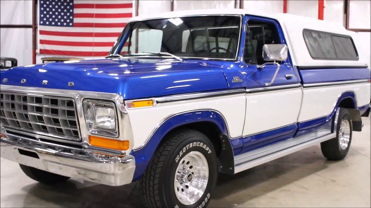 small resolution of 1979 ford f150 blue white