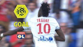 Goal Bertrand TRAORE (75') / Olympique Lyonnais - Girondins de Bordeaux (3-3) / 2017-18