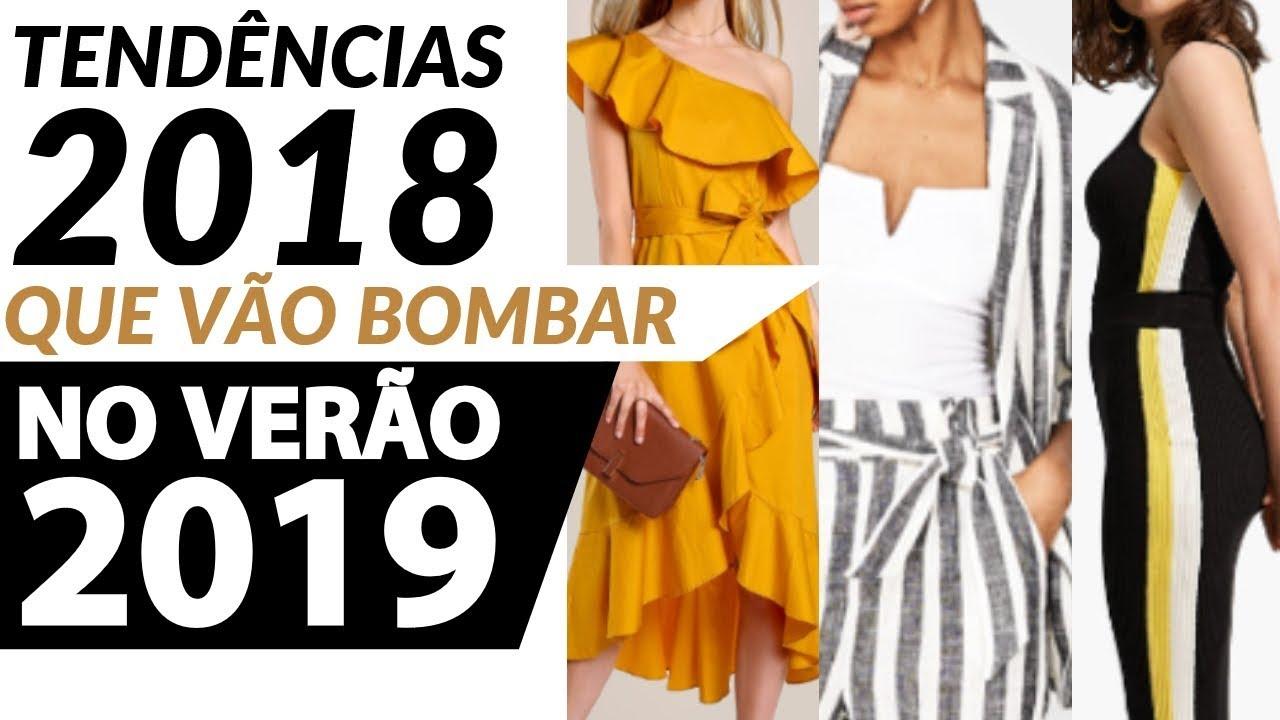 ba0cd15ba TENDÊNCIAS QUE VÃO BOMBAR NO VERÃO 2019