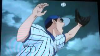 majorアニメメジャー 海堂のトリックプレーで清水大河をアウトに! thumbnail