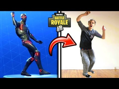 NINJA DOES THE HYPE EMOTE/SHOOT DANCE IN REAL LIFE!! *FUNNY* Fortnite SAVAGE & FUNNY Moments