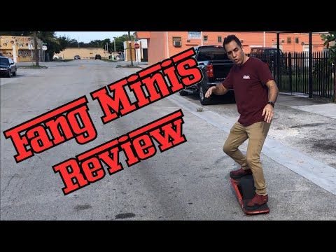 LandSurf Onewheel Fang Minis Review, FREE Fang Minis Giveaway, and Nosedive Prevention Tips!