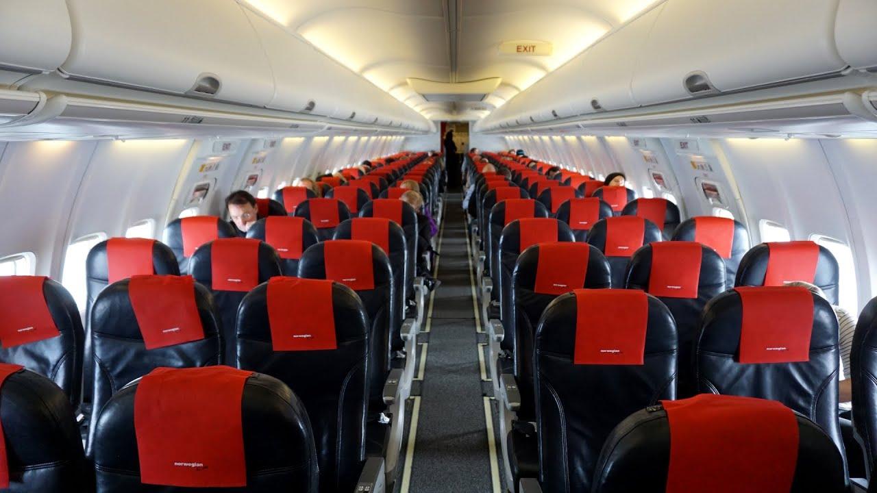 Boeing 737 max interior norwegian for Max interior