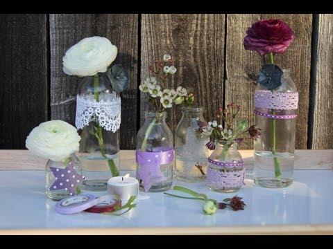 Kleine Vasen dekorativ verziert  YouTube
