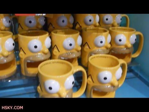 V#106 HSKY Let's Go Shopping Simpsons Store Universal Studios ...