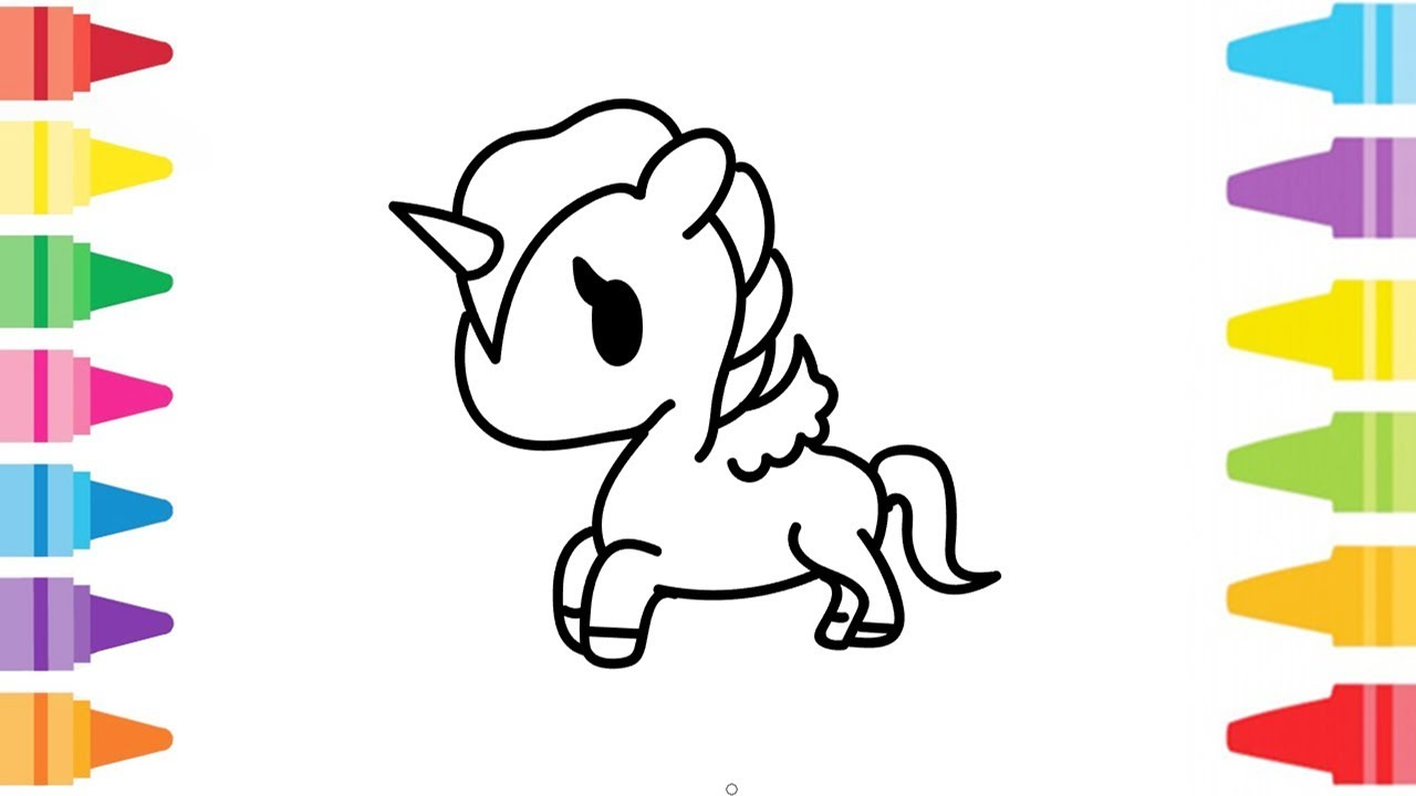 30+ Top For Baby Unicorn Drawings For Kids - Neverlandmis ...