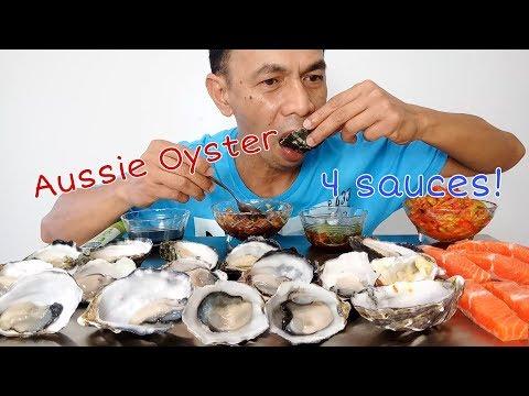 Makan 3 Jenis Kerang Tiram  Mukbang Indonesia 3 Kinds Of Oyster