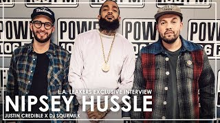 "Nipsey Hussle on ""Racks in The Middle"", Puma Deal, & Buying Back The Block"