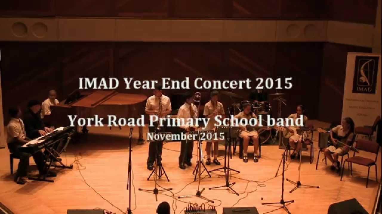 IMAD - York Road Primary School band - 7 November 2015