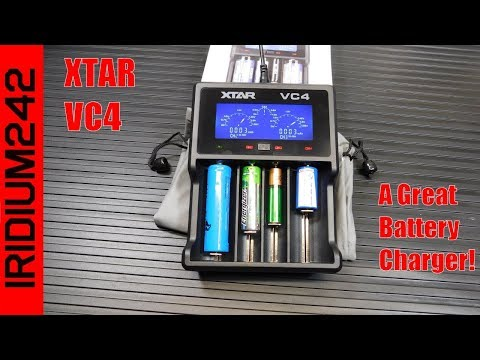 XTAR VC4 Lithium/NiMH Battery Charger