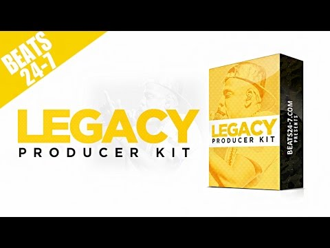 Beat Construction + Loops + Drum Kit - Legacy Producer Kit