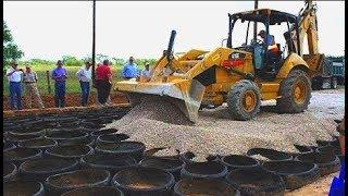 Najbardziej NIESAMOWITE wynalazki na BUDOWĘ i układanie asfaltu