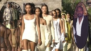 Models Can't Take Scorching Heat at Kanye West's Yeezy Fashion Show