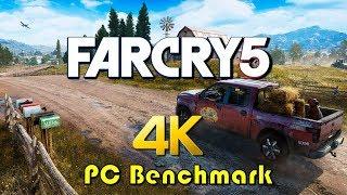Far Cry 5 | 4K PC Benchmark (gtx 1080ti)