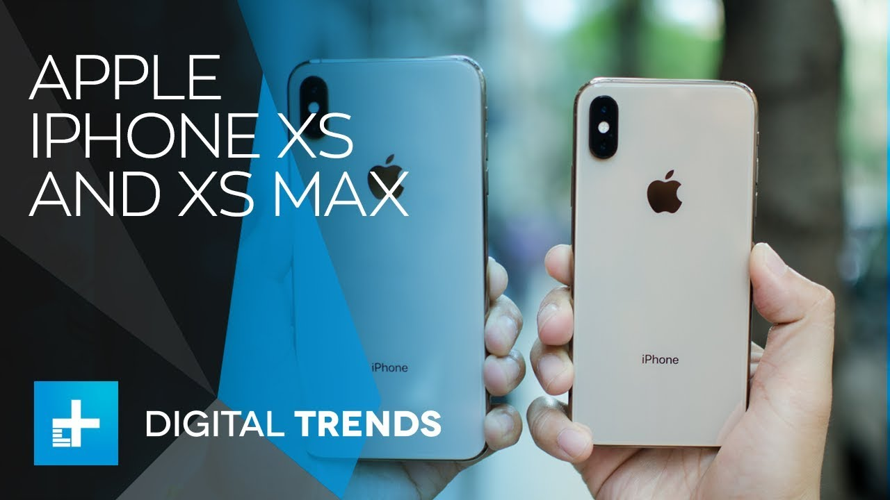 Apple iPhone XS and XS Max - Hands On Review