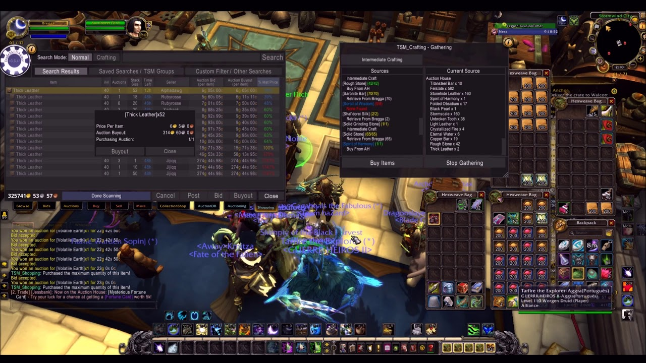 Fast easy gold for WoW game time or to buy Battle for Azeroth .