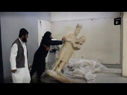 Antiquities Scholar: Islamic State's Destruction of Museum & Library is Cultural & Ethnic Cleansing